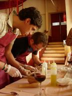 juego sentidos taller cocina