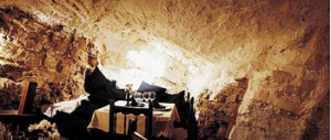 cave restaurant at culinary tour